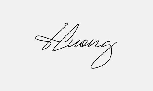 Kiểu chữ ký tên Hương đẹp nhất