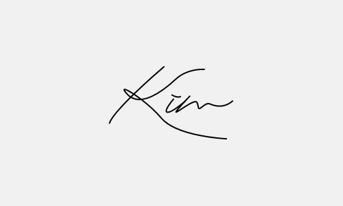 Kiểu chữ ký tên Kim đẹp nhất
