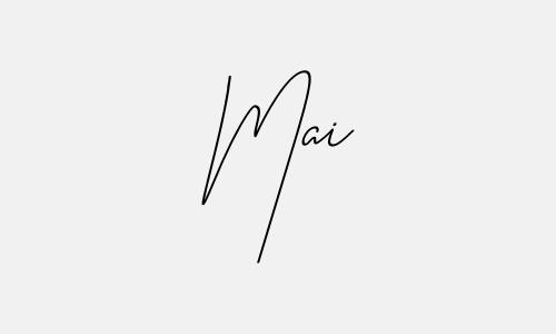 Kiểu chữ ký tên Mai đẹp nhất
