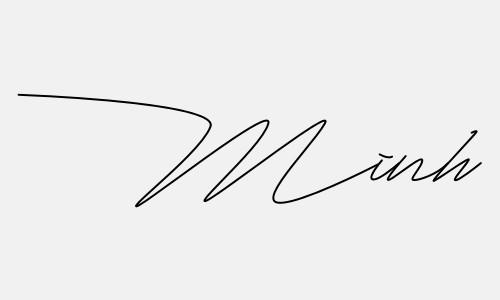 Kiểu chữ ký tên Minh đẹp nhất