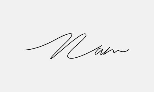 Kiểu chữ ký tên Nam đẹp nhất