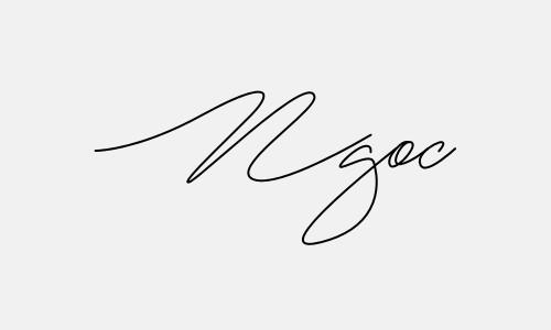Kiểu chữ ký tên Ngọc đẹp nhất