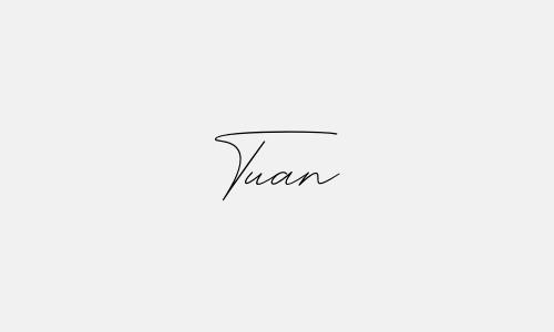 Kiểu chữ ký tên Tuấn đẹp nhất