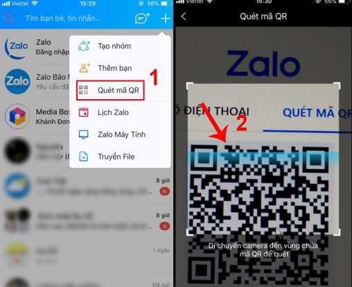 Ứng dụng Zalo trên điện thoại