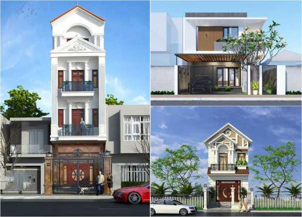 Những mẫu thiết kế nhà ở đẹp phong cách hiện đại
