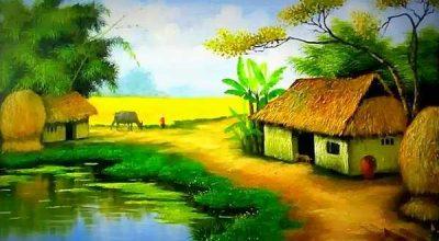 Vẽ tranh phong cảnh đơn giản lớp 3