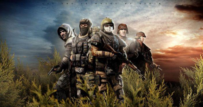 Hình ảnh nền game 4k những tay súng