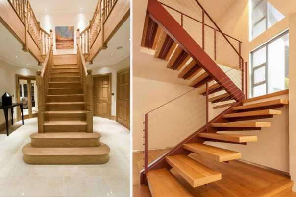 Trụ cầu thang gỗ phổ biến hiện nay