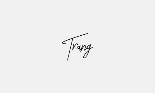 Mẫu chữ ký tên trang đẹp