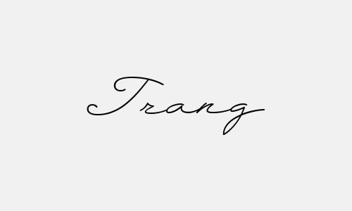 tạo chữ ký đẹp tên trang