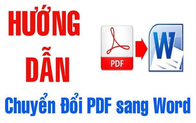 Công cụ chuyển PDF sang Word trực tuyến