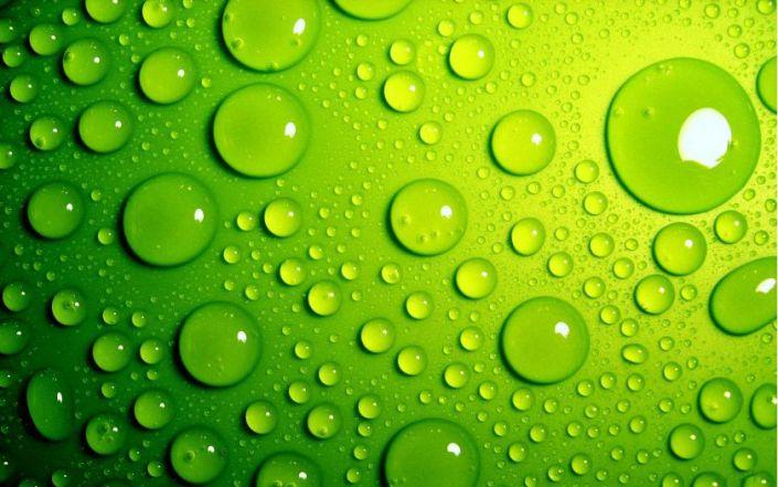 Hình ảnh màu xanh lá xây 3d