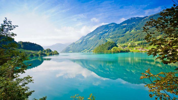 Gắm nhìn hình nền về sông nước thiên nhiên