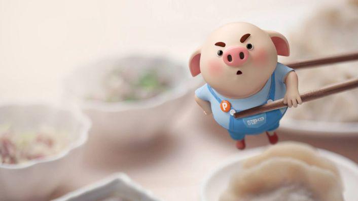 Hình nền chú lợn ngộ nghĩnh