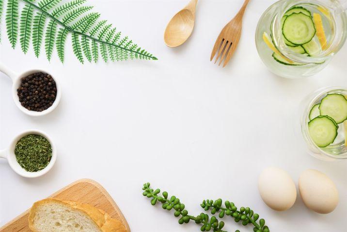 Trang trí hình nền ẩm thực đẹp