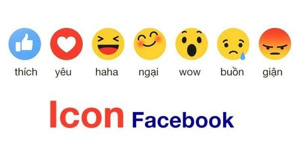 Trọn bộ các kiểu icon facebook hiện nay