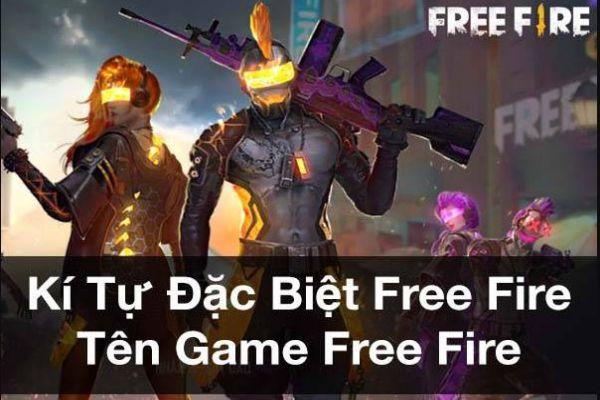 Kí tự đặc biệt ff đặt tên nhân vật game