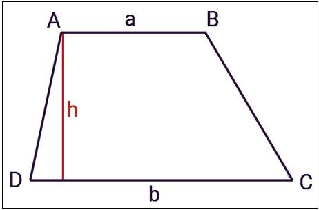 Áp dụng công thức tính diện tích hình thang