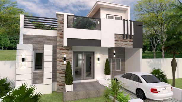 Bản thiết kế nhà 2 tầng 9x12m