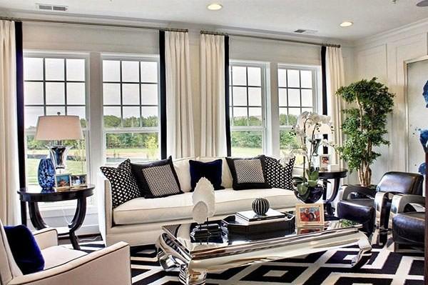 Mẫu thiết kế nội thất phòng khách nhà cấp 4 đẹp