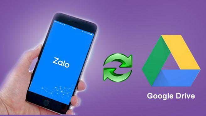 Cách sao lưu ảnh từ Zalo lên Google Drive trên thiết bị Android