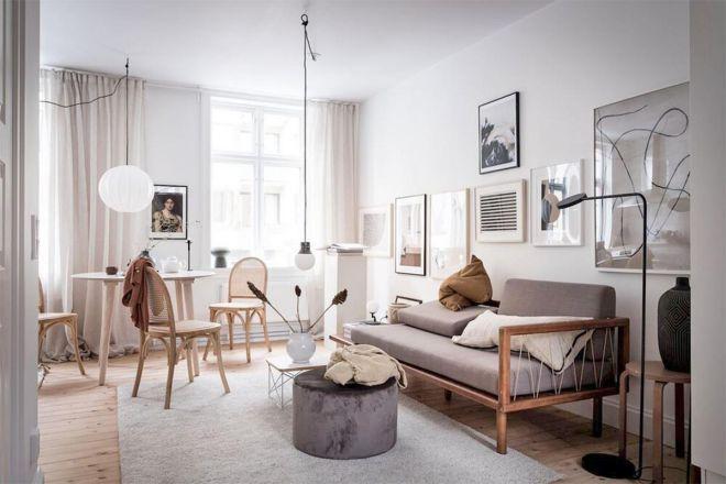 Thiết kế nội thất nhẹ nhàng và quyến rũ