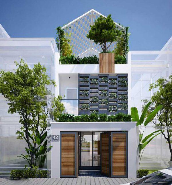 Cách thiết kế nhà có sân thượng trồng rau