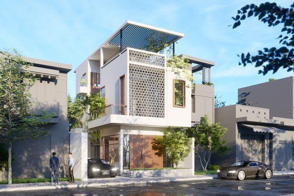 Thiết kế nhà 3 tầng có sân thượng sử dụng làm mục đích gì?