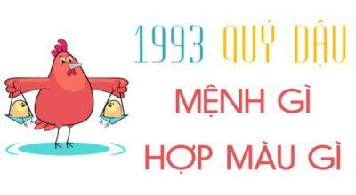Sinh năm 1993 là mệnh gì, hợp tuổi nào và hướng nào