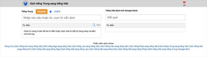 Vikitranslator.com trang web dịch tiếng trung