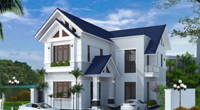 Kiến trúc nhà 2 tầng lợp mái tôn là gì