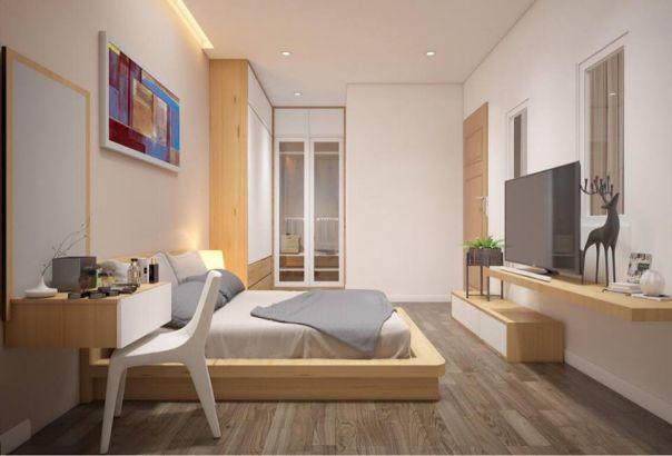 Mẫu phòng ngủ hiện đại  gỗ công nghiệp hình 3