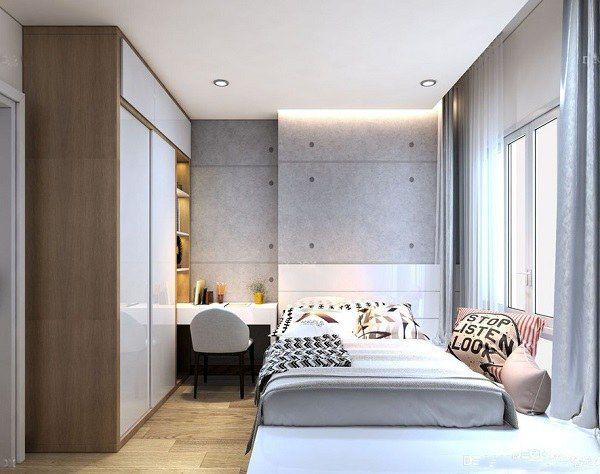 Nội thất phòng ngủ đẹp bằng gỗ công nghiệp MDF - Hình 4