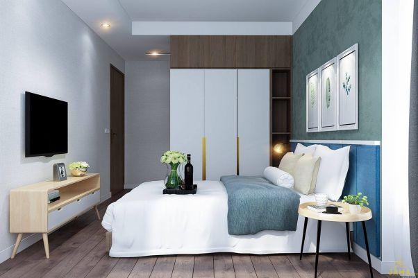 Nội thất phòng ngủ đẹp bằng gỗ công nghiệp MDF - Hình 5