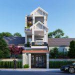 Tư vấn thiết kế bản vẽ nhà phố 3 tầng 5x20m